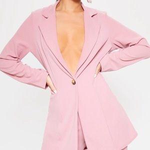 Pretty Little Thing Pink Blazer 🍌